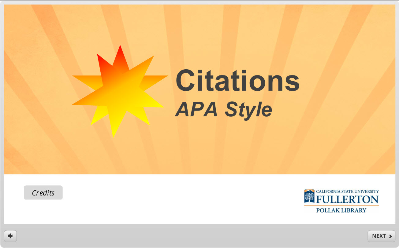 Learning APA Style Through Games and Simulations
