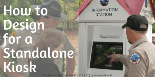 Design a Learning Experience for a Standalone Kiosk