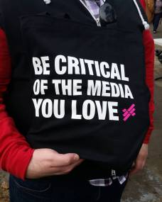 Be critical of the media you love.