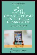 ELA Teaching Strategies: Google Forms