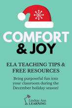 December Holiday Activities in the ELA Classroom