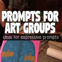 8 Unique Prompts for Casual and Therapeutic Art Groups