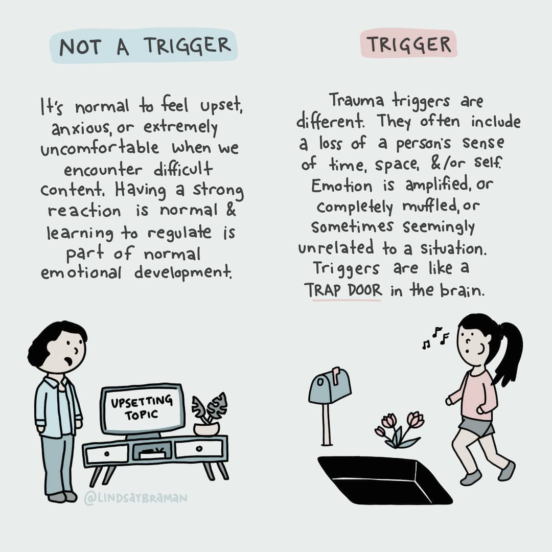 Triggers Vs Triggered Trauma Triggers And Modern