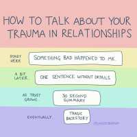 Disclosing Trauma in New Relationships 101