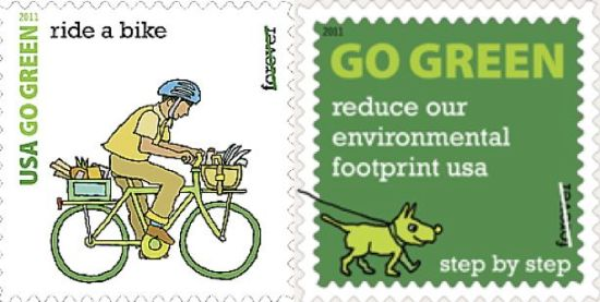 Go Green Stamps
