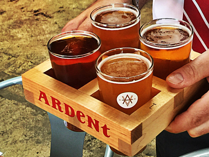 Clean industry at Ardent Craft Ales, Richmond