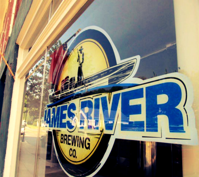 A river-centric vibe at James River Brewing, Scottsville
