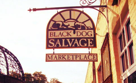 Black Dog Architectural Salvage & Antiques, Roanoke
