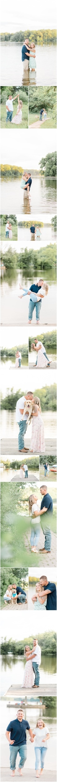 gifford pinchot engagement session