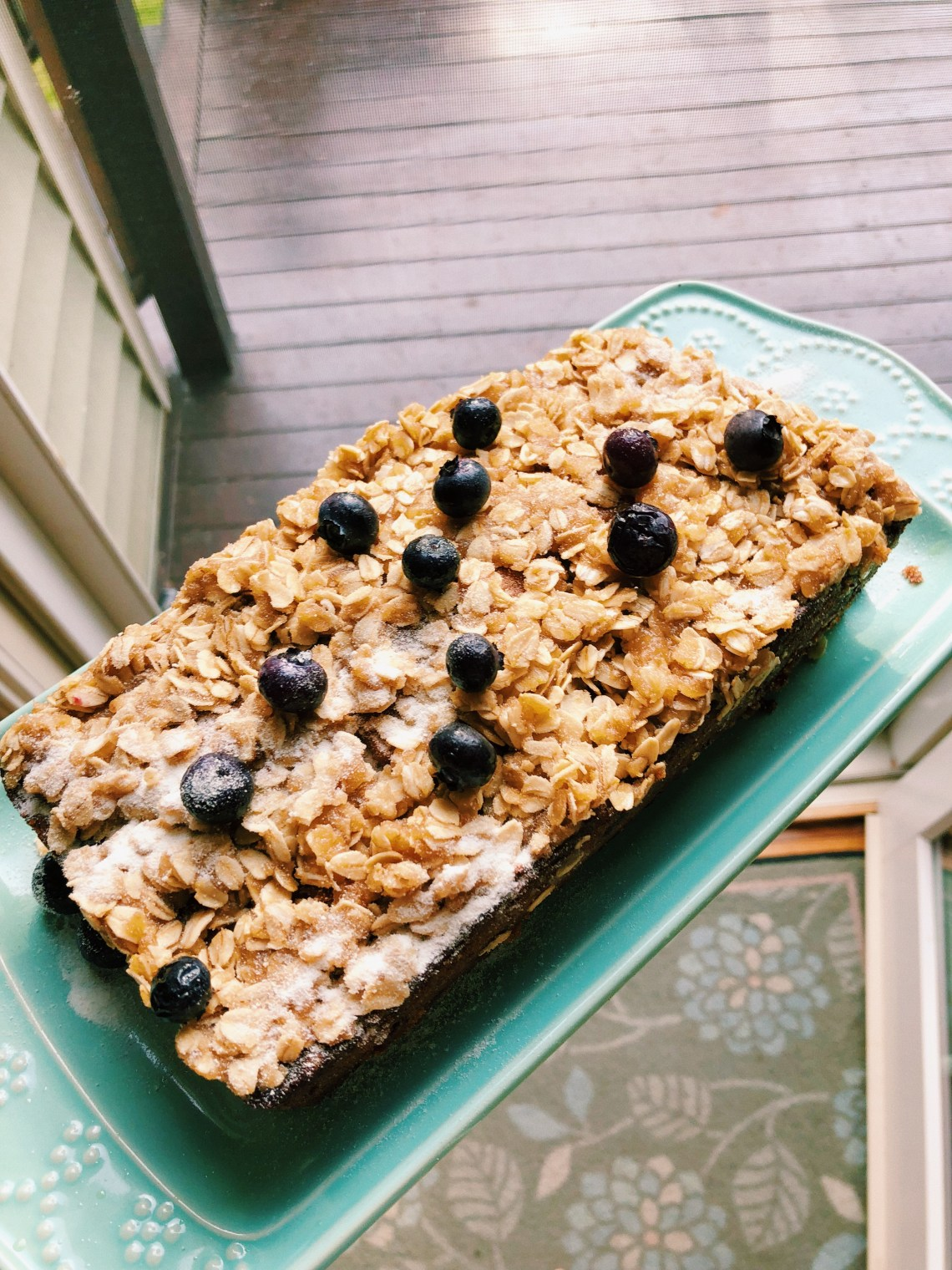 paleo gluten free blueberry banana bread