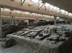 The prehistoric site of Akrotiri