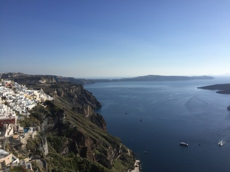 A view from Fira