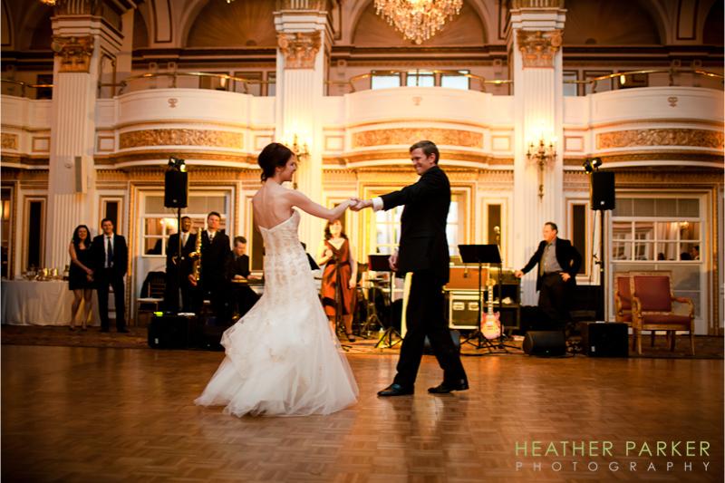 Fairmont Copley Plaza Hotel Grand Ballroom Boston Wedding