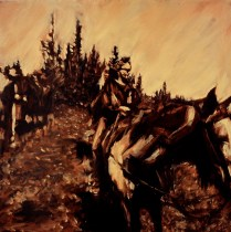 """Westcliffe / Oil on Canvas 20"""" x 20"""" / For Sale"""
