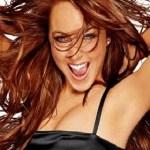 Lindsay Lohan iphone theme