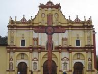 Cathedral in San Cristóbal de las Casas Zocalo