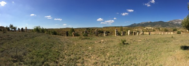 Olives and Standing Stones in La Rioja