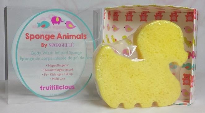 Mommy review Spongelle animal sponge