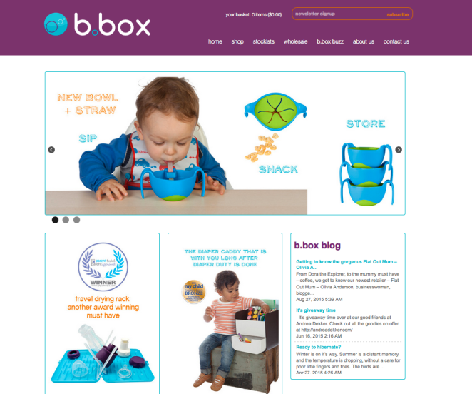 b.box website