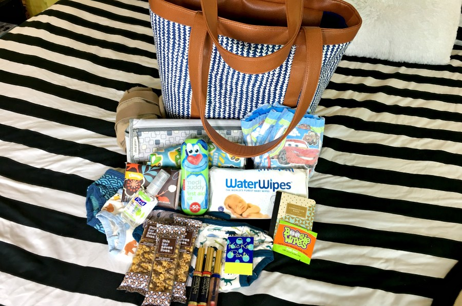 what's in my diaper bag mommy review
