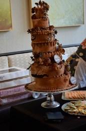 A vendor's cake at the Cincinnati Art Museum's Taste of Duveneck.