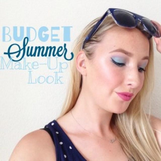 Budget Summer Make-Up Look