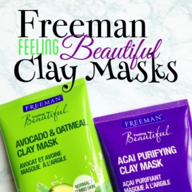 Freeman Feeling Beautiful Clay Masks