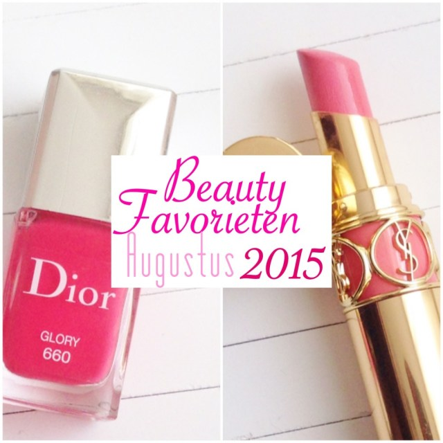 Beautyfavorieten Augustus 2015