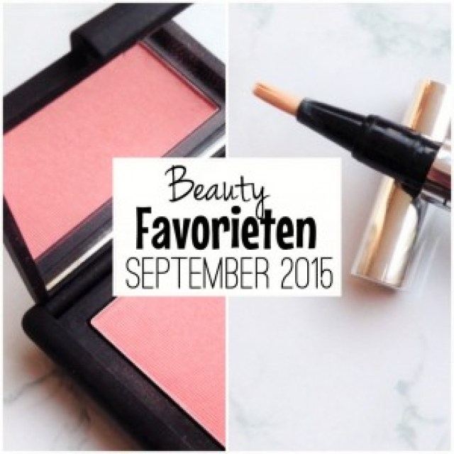 Beautyfavorieten September 2015