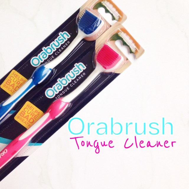 Orabrush Tongue Cleanser