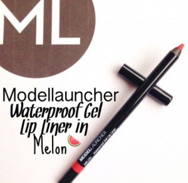 Modellauncher Waterproof Gel Lip Liner in Melon