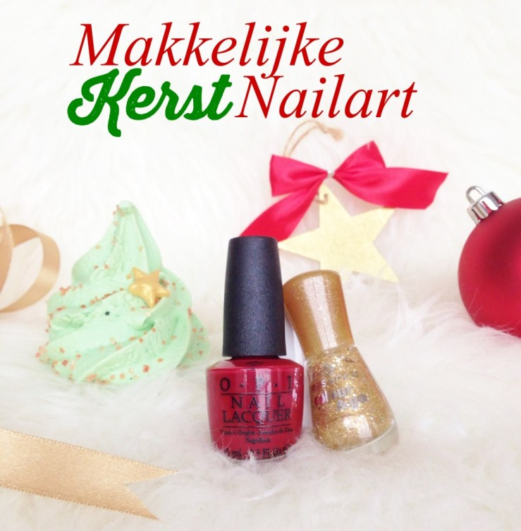 Makkelijke Kerst Nailart