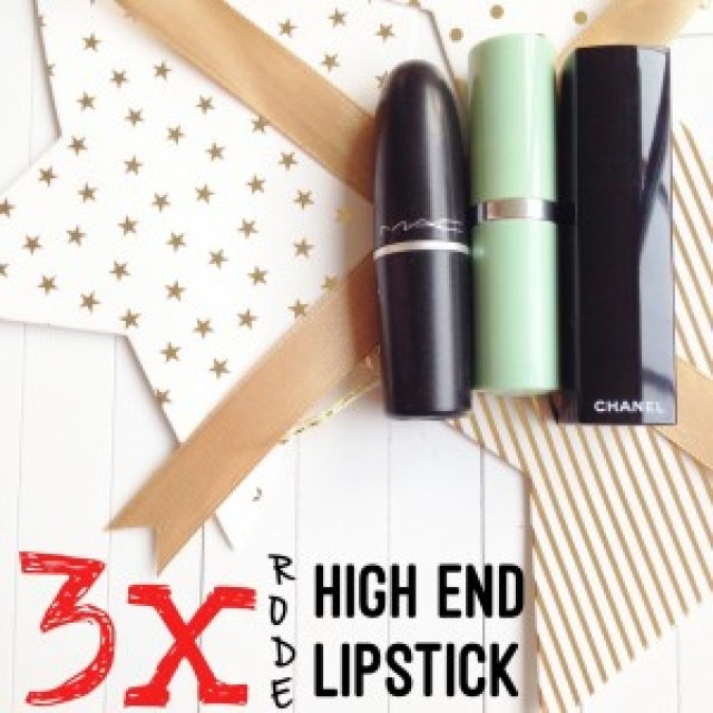 3x Rode High End Lipstick