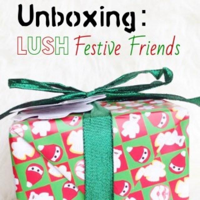 LUSH Festive Friends