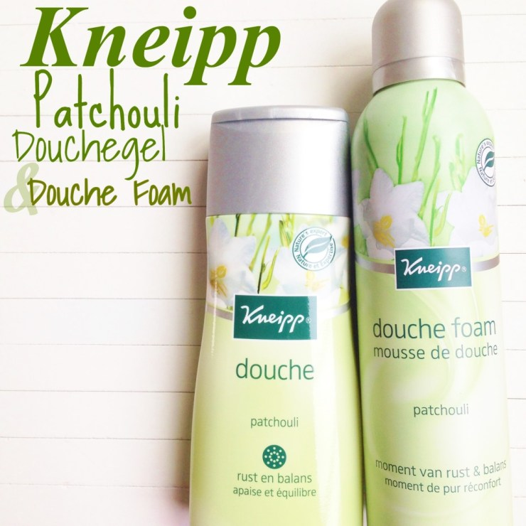Kneipp Patchouli Douchegel en Douche foam