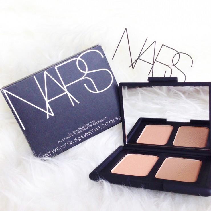 NARS Hot Sand Laguna Blush and Bronzer Duo