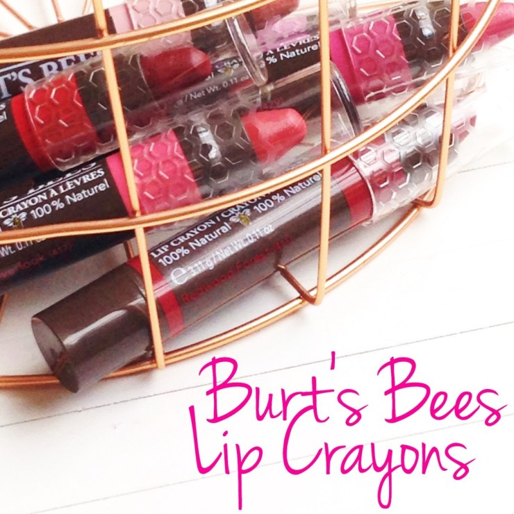 Burt's Bees Lip Crayons
