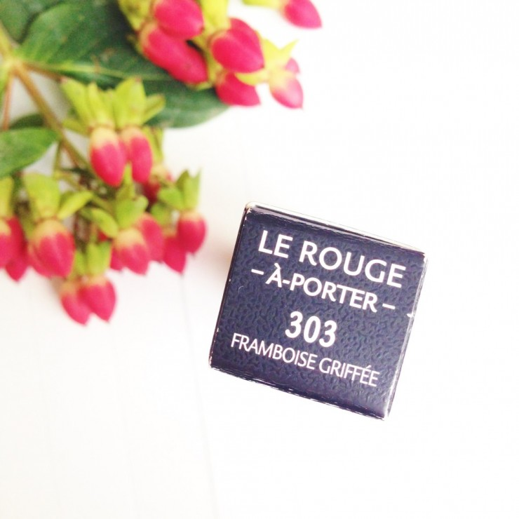 Givenchy Le Rouge À Porter N303 Framboise Griffée