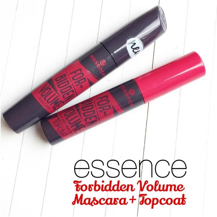 Essence Forbidden Volume Mascara + Topcoat