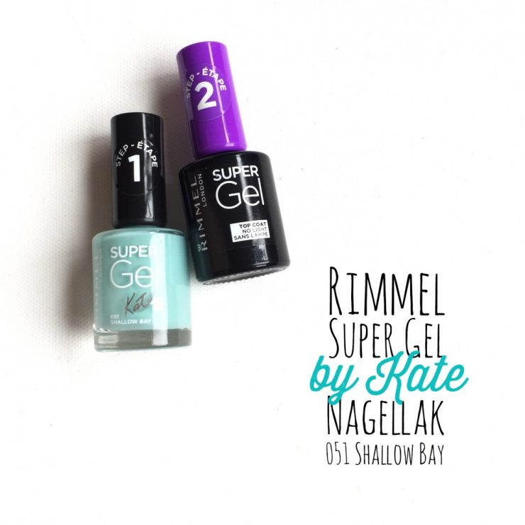 Rimmel Super Gel by Kate Nagellak