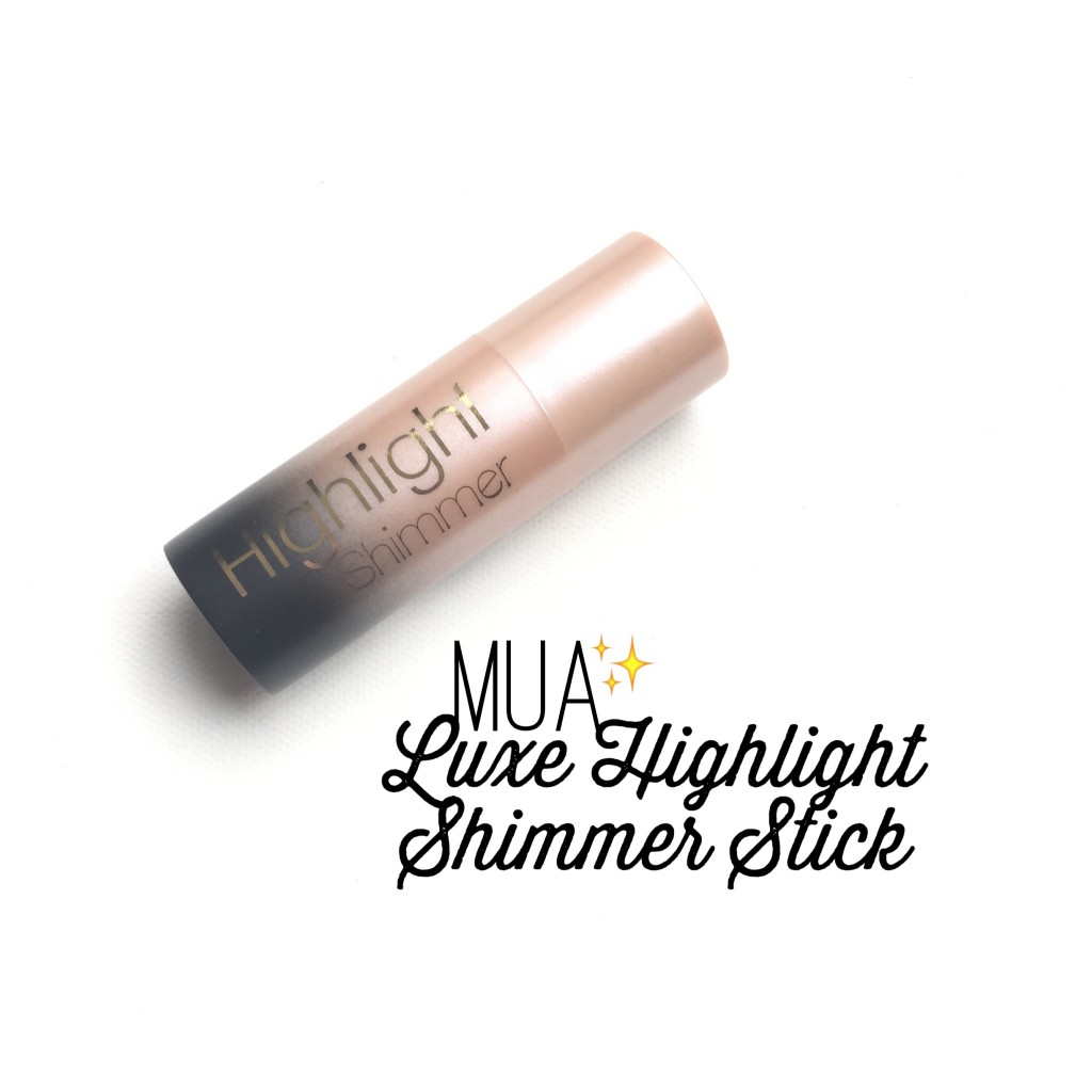 MUA Luxe Highlight Shimmer Stick