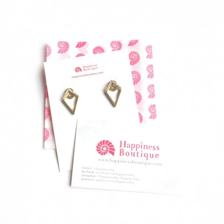 Happiness Boutique Geometric Ear Jackets