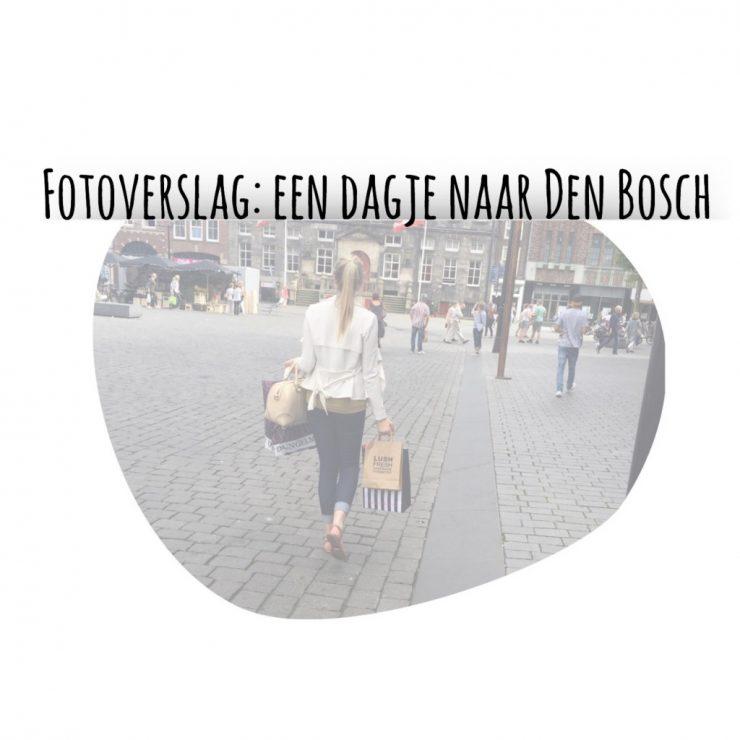 een dagje naar Den Bosch