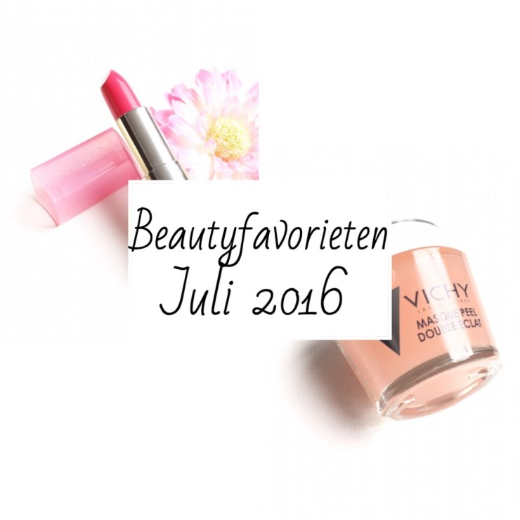 Beautyfavorieten Juli 2016