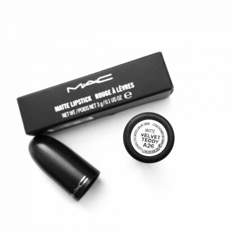 MAC Velvet Teddy Matte Lipstick