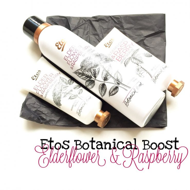 Etos Botanical Boost Elderflower & Raspberry