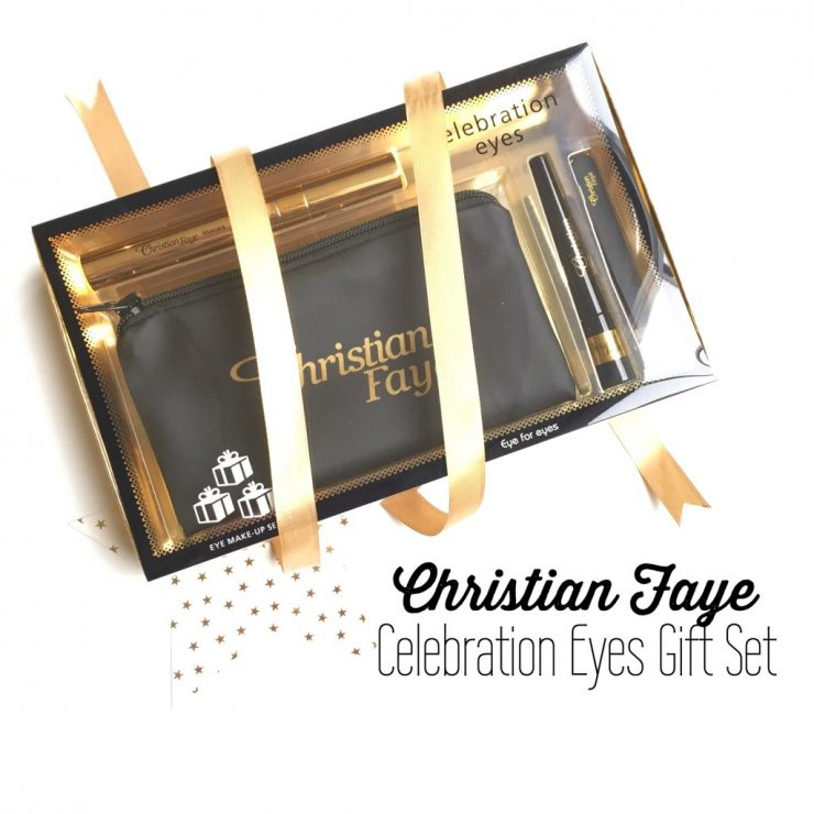 Christian Faye Celebration Eyes Gift Set