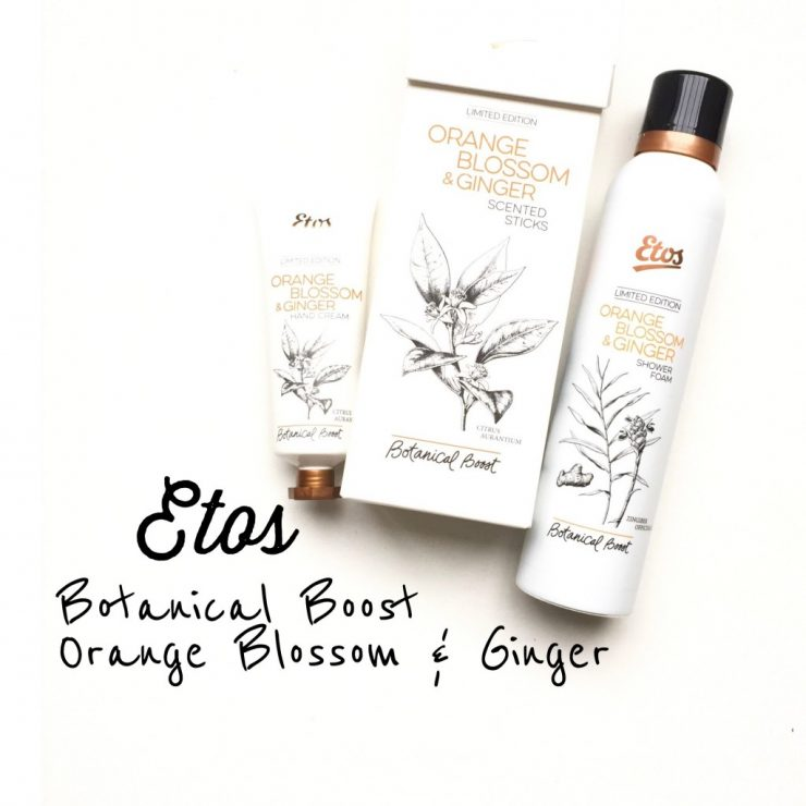 Etos Botanical Boost Orange Blossom & Ginger