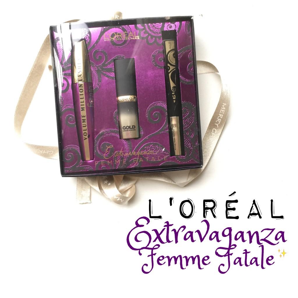 L'Oréal Paris Extravaganza Giftset Femme Fatale