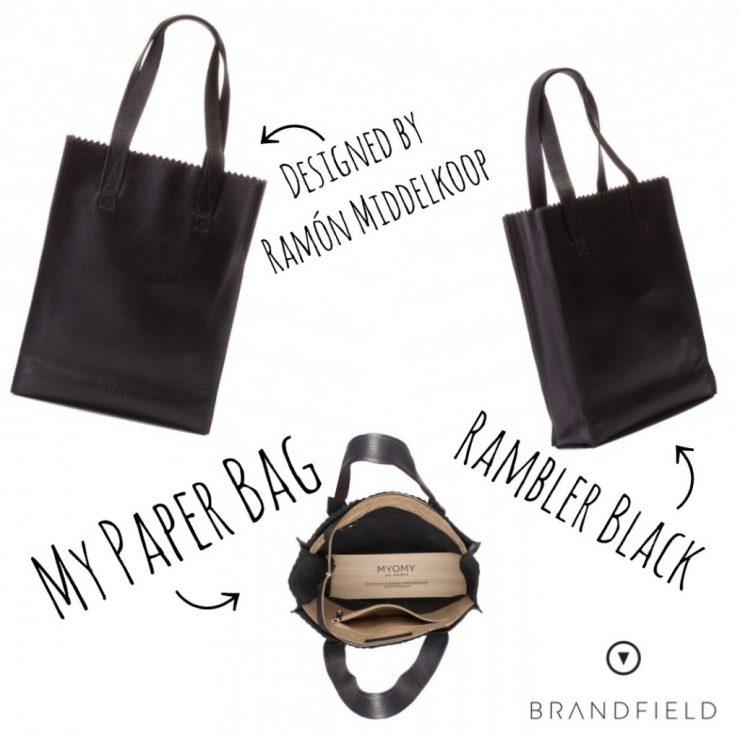 MYOMY My Paper Bag Long Handle Shopper